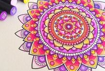 Adult Coloring: Tips & Tricks / Adult Coloring Tips & Tricks, Shading Tutorials, Background Coloring, Coloring Tools, Coloring with Copics, Pencils and More!
