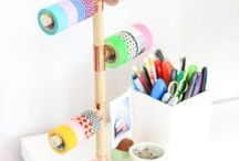 DIY: Washi Tape Storage