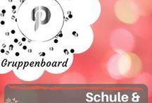 Schule & Lernen - Gruppenboard / Gruppenboard zum Thema  Schule und Lernen - sei dabei und pinn mit! Schreib mir einfach eine Nachricht hier über Pinterest oder an: info@blogalong.de und wir können zusammen pinnen! Ich freue mich auf dich!