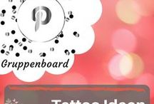 Tattoo Ideen - Gruppenboard / Du stehst auf Tattoos? Dann ist dieses Gruppenboard bestimmt das Richtige für dich! Hier werden die besten Tattoo Ideen gesammelt und zusammengestellt. Ich freue mich auf gemeinsames Pinnen! Schicke mir einfach eine Nachricht über Pinterest oder eine eMail an: info@blogalong.de, dann kann ich dich der Gruppe hinzufügen! Happy Pinning!