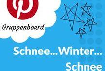• Schnee ... Winter ... Schnee • / Gruppenboard für den Winter! Es ist kalt, der erste Schnee fällt  - was eine schöne Pracht! Alle Winter- und Schnee-Ideen findest du hier! Möchtest du mitpinnen? Hast du tolle Winterbilder? Dann schreib mir eine Nachricht oder eine eMail an: info@blogalong.de