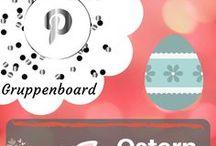 Ostern - Gruppenboard / Gruppenboard rund um Ostern und Ostergeschenke! Möchtest du mitpinnen? Hast du auch tolle Ideen? Dann schicke mir eine Nachricht oder eine eMail an: info@blogalong.de ;)