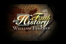 Faith in History / William J. Federer is a nationally known speaker, best-selling author, and president of a publishing company dedicated to researching America's Christian heritage. During this half-hour program learn answers to various questions about Faith as it pertains to American history. Available on Demand at www.tct.tv.
