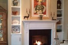 vanderBeken Remodel Projects - Mantles / The centerpiece of a living room is often the fireplace mantle. It can really make an impact.