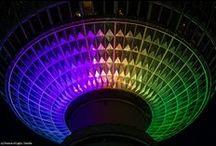 Berliner Fernsehturm / Berlin TV Tower @ Berlin FESTIVAL OF LIGHTS