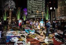 Potsdamer Platz @ Berlin FESTIVAL OF LIGHTS