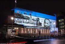 Amerikanische Botschaft / US Embassy @ Berlin FESTIVAL OF LIGHTS