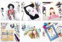 My illustrations / Illustrations and art