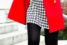 Lovely Opaque Tights / Opaque tights are a staple that should be in every gal's top drawer.