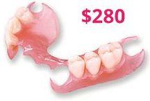 Dentures - Flexible Partials / Buy $280 DENTURES online here: Lowpricedentures.com