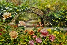 Fresh Works of Art / Oil Paintings of Flowers and Landscapes