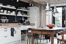 Kitchen and dining {inspiration}