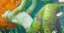 Little Mermaid / ༺♥༻ mermaids, nymphs, sirenas ༺♥༻