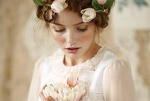 ♥ Vintage Rose Lady ♥ / ༺♥༻Ana Rosa, shabby chic, rose decor, clothes and art, vintage, pink hues ༺♥༻