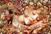 Mabon & Samhain  / ☾☆ autumn/fall colours, moods ☾☆ and pagan holiday ☾☆