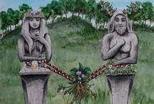 Litha & Lughnasadh / ☾ ☆ spring colours and moods ☾ ☆ pagan festive days and holidays ☾ ☆