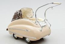Nostalgic retro Strollers / Have a look at these nice and nostalgic retro strollers - already in the past, our kids could feel like little princes and princesses!
