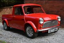 Tents, Trailers, Vans, Estates, Pick Ups & Motorhomes / A whole bunch of idea generating vehicles, plans and designs. I one day hope to design and build some kind of classic Mini / Riley Elf motorhome (read improved Mini Wildgoose), with the capability of towing a teardrop trailer. One day.......