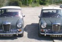 Riley Elf & Wolseley Hornet / The stylish Mini with a big boot and classy front end; on the 'to acquire before I hit 40' wishlist!