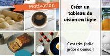 Tableaux de visualisation / Mes tableaux de visualisation ou #visionboard