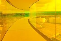 nuances de jaune / flamboyant, étonnant