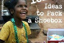 OCC Shoebox / Operation Christmas Child shoe box ideas
