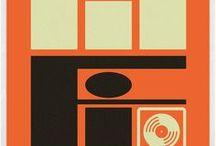 déco : cathodiques, aiguilles et micro-sillons / TV, horloges et platines, graphismes, vinyles ...