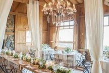 Country Themed Wedding / Every beautiful inspiration and idea that could help make a barn & country wedding truly authentic and amazing