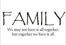 for my family / by Hannah :)