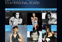 Social Media Redesigns / Creative design interpretations of current social media networks.