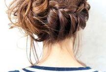Hair-dress. Coiffure.