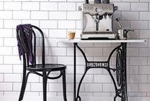 My Dream Room - Café Kitchen Cool / Serve up a relaxed, urban café vibe with stylishly practical elements and cool vintage details. Love it? Pin it. Win it! Enter our Pinterest competition for your chance to win £1000 to spend on homeware at intu Trafford Centre. Click on the competition pin below for details.