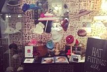 Pinterest's Hats off to London Fashion Week at The Papered Parlour