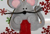Felt Ornaments / by Linda Szmalc