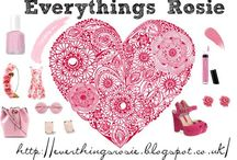 Everthing is Rosie / Hey everyone this out board for our fashion and beauty blog , links below  http://everthingsrosie.blogspot.co.uk/ https://twitter.com/_EverythingRosy https://www.facebook.com/pages/Everythings-Rosie/1734293263461521