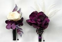 Wedding colors - Purple & white