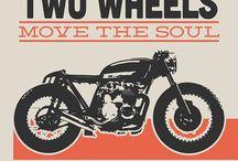 Motorcycle - vintage