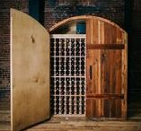 our wine rooms, fridges, cellars & bars. / Our handcrafted wine rooms, free standing wine fridges, cellars and bars.