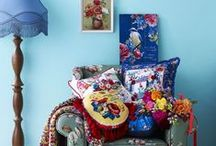 Botanica Blooms - Spring 2015 Home / Bring an explosion of colour into your home with echoes of vibrant flower markets, hot-house botanica and leafy prints.