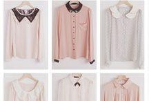 Puserot / Etsitään tähän tauluun erilaisia kankaasta valmistettuja paitapuseroita (linja/väljyys, kaulukset, rannekkeet, napitukset, leikkaussaumat, kaarrokkeet, muotolaskoset, halkiot, poimutukset, helman muoto)