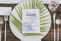 Flossy and Willow Place Settings