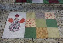 Meus trabalhos em patchwork / Fotos dos projetos que eu fiz em patchwork.