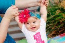 Baby Birthday Ideas!  / by Summer & Ricky Phipps