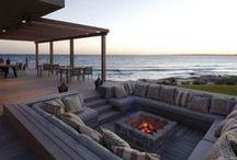 X Lareiras externas - Outdoor fireplaces / Arquitetura Paisagismo Garden Design Landscape Architecture