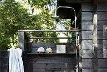 X Chuveirão - Outdoor shower / Arquitetura Paisagismo Garden Design Landscape Architecture