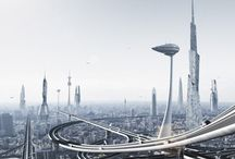CITY - FUTURE / Future buildings, cities, landscapes and more