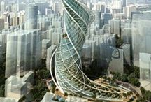 ARCHITECTURE CONCEPTS / Concepts of buildings, houses and more