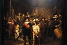 Rembrandt / Rembrandt Harmenszoon van Rijn was een Nederlands kunstschilder. Hij wordt beschouwd als een van de belangrijkste Hollandse meesters van de 17e eeuw.