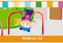 Welkom op school Sil! / In dit thema maken de kinderen kennis met het nieuwe programma Sil op school. Sil is een pop en een klasgenootje van de kinderen. Samen met Sil doen de kinderen allerlei activiteiten om Sil beter te leren kennen. Welkom op school Sil!
