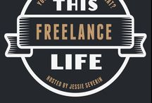 This Freelance Life / You took the leap into freelancing. Maybe it wasn't what you were expecting.   Consider this your life preserver.   You'll find help with marketing, legal, web, and finances here.